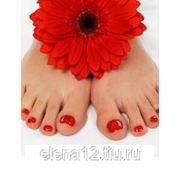 Покрытие ногтей гель - лаком (ноги) фото