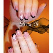 Наращивание биогелем. Портфолио http://vk.com/nail_styles фото