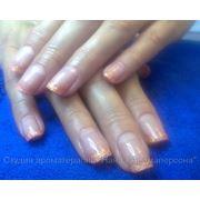 Укрепление натуральных ногтей БИО-ГЕЛЕМ фото
