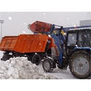Погрузка, вывоз и утилизация снега фото