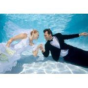 Свадьба под водой фото