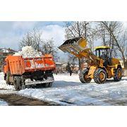 Вывоз снега в Казани. фото