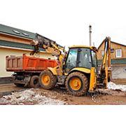 Вывоз строительного мусора.грунта. хлама.строительных отходов. фото