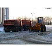 Уборка, вывоз и утилизация снега фото
