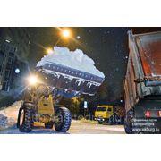 Услуги уборки и вывоза снега фото