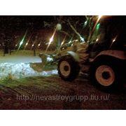 Уборка снега, Вывоз снега, Вывоз снега СПб фото
