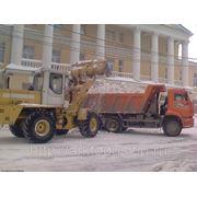 Погрузка, вывоз, утилизация снега фото