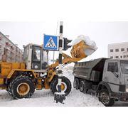 Уборка и вывоз снега СПб фото
