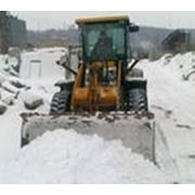 Вывоз снега с погрузкой фото