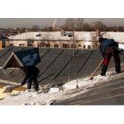 Очистка крыши. Цена - 25р/м2.