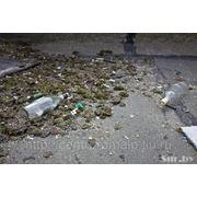 Очистка крыш от мусора фото