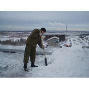 Уборка снега с крыши Ижевск фото