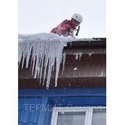 Уборка снега. Очистка кровли. В Самаре. Новокуйбышевске. (89023757115) Александр. фото