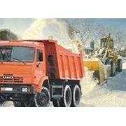 Уборка снега в СПб фото