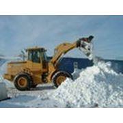 Уборка вывоз снега королев фото