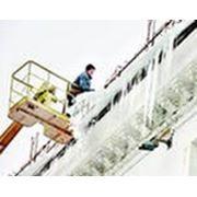 Очистка крыш от снега. тел. 984-14-01 фото