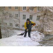 Очистка крыши от снега, расчёт фото