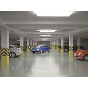Уборка гаражей, стоянок, паркинг фото