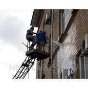 Очистка фасадов и металлоконструкций фото