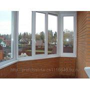 Мытье балконов фото