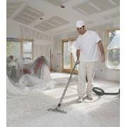 Уборка после строительных работ(пол, стены, двери) фото