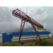 Монтаж подъемно-транспортного оборудования. фото