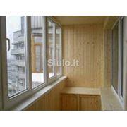 Мойка балконов фото