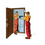 Реставрация дверного полотна. фото