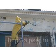 Очистка фасадов (гидроструйный метод) от 199руб. фото