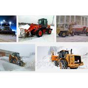 Уборка снега трактором цена фото