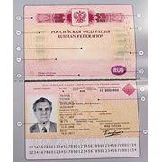 Заграничный паспорт нового поколения фото
