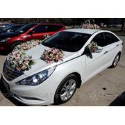 Аренда прокат свадебного автомобиля в Самаре-Тольятти, — Hyundai Sonata NEW 2011 года фото