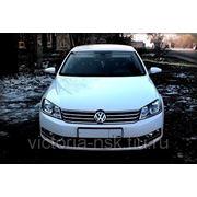 Аренда автомобиля Volkswagen Passat 2012 г.в. с водителем фото