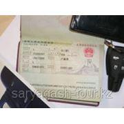 Виза электронная в Китай фото