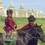 Оформление визы в Монголию фото