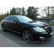 Mercedes Benz S500 W221 Long в аренду фото