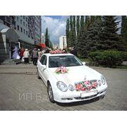 Аренда автомобиля Мерседес белого цвета на свадьбу или деловую поездку в Уфе фото