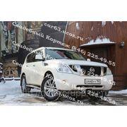 Машина на свадьбу в Самаре - новый внедорожник Nissan Patrol 2012 года фото