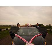Аренда автомобилей на свадьбу Peugeot 308 black фото