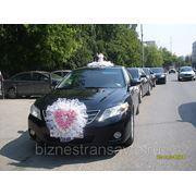 Свадебный кортеж из автомобилей Камри фото