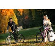 Свадьба на велосипедах фото