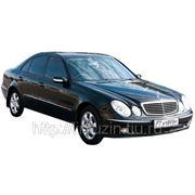 Аренда мерседес на свадьбу Mercedes E w211 black фото