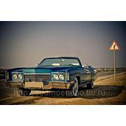 Cadillac Eldorado 1971 blue фото