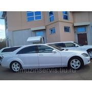 Автомобиль Мерседес S-класса 221 LONG фото