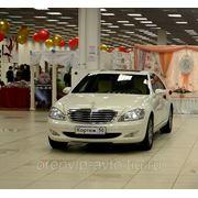 Авто Mercedes S500 W 221 long на свадьбу в Оренбурге фото