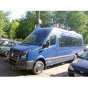 Заказ микроавтобуса Фольксваген крафтер 20 мест фото