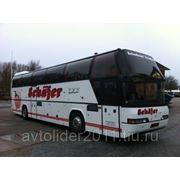 Перевозка школьников автобусом Неоплан фото