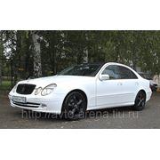 Аренда, заказ, прокат автомобиля Mercedes-Benz E W 211 фото