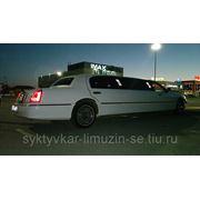 "Лимузин белый, Lincoln ""Town Car"" фото"