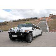 Аренда лимузина Hummer H2 Black style фото